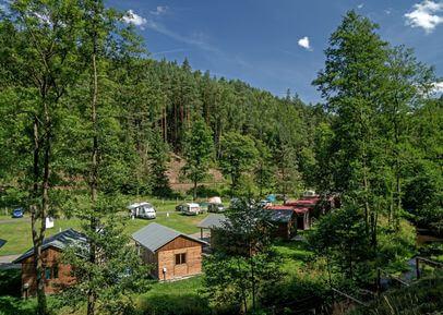 ubytování v autokempu mezi Adršpašsko-teplickými skalami / ubytování autokemp Bučnice