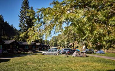 Autokemp Bučnice můžete navštívit od jara do podzimu.