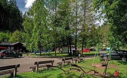 Autokemp Bučnice u Adršpachu u Adršpašských a Teplických skal.